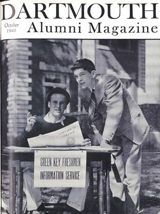 Cover for the October 1940 issue