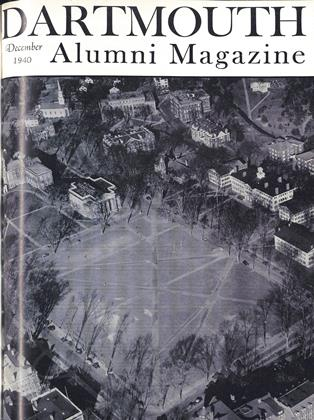 Cover for the December 1940 issue