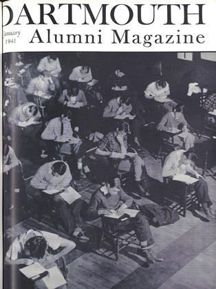 Cover for the January 1941 issue
