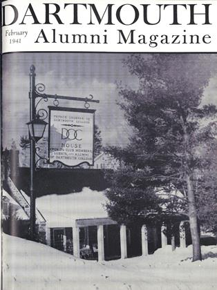 Cover for the February 1941 issue