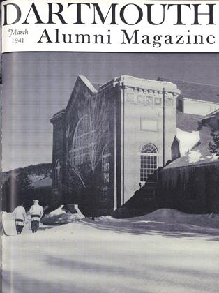 Cover for the March 1941 issue