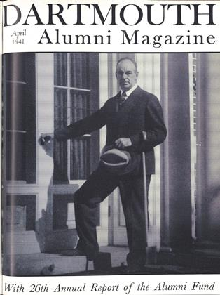 Cover for the April 1941 issue