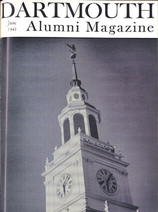 Cover for the June 1941 issue