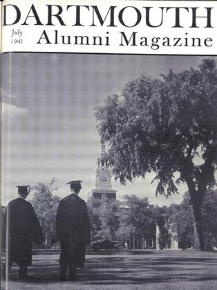 Cover for the July 1941 issue