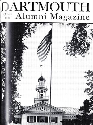 Cover for the October 1941 issue