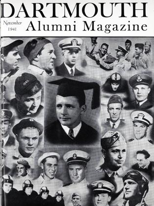 Cover for the November 1941 issue