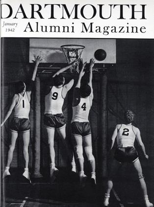 Cover for the January 1942 issue
