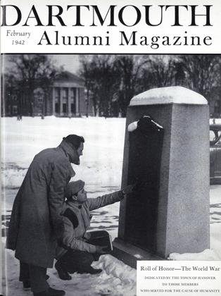 Cover for the February 1942 issue