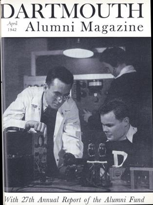Cover for the April 1942 issue