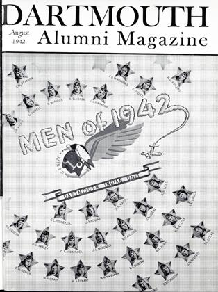 Cover for the August 1942 issue