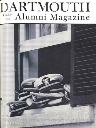 Cover for the October 1942 issue