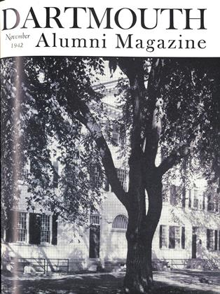 Cover for the November 1942 issue