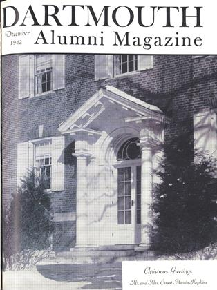 Cover for the December 1942 issue