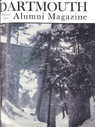 Cover for the February 1943 issue