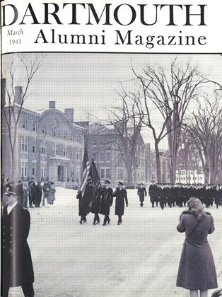 Cover for the March 1943 issue