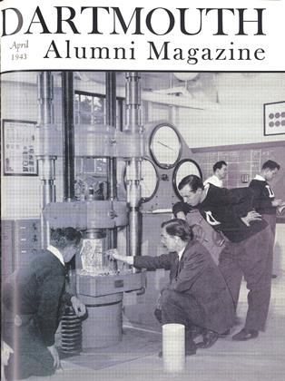 Cover for the April 1943 issue