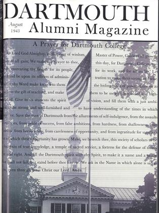 Cover for the August 1943 issue