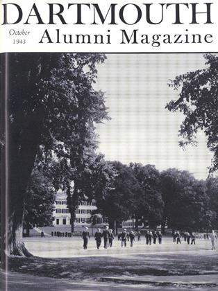 Cover for the October 1943 issue