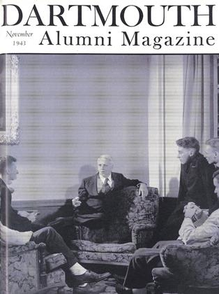 Cover for the November 1943 issue