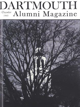 Cover for the December 1943 issue