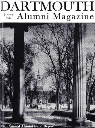 Cover for the January 1944 issue