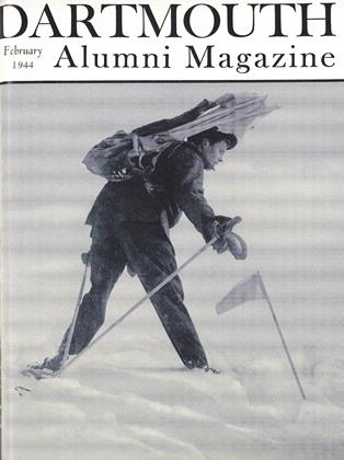 Cover for the February 1944 issue