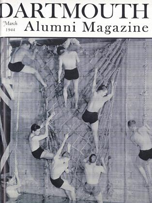 Cover for the March 1944 issue