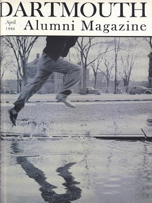 Cover for the April 1944 issue