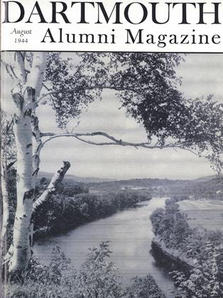 Cover for the August 1944 issue