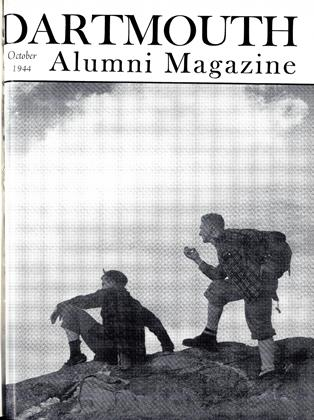 Cover for the October 1944 issue