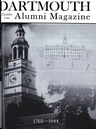 Cover for the December 1944 issue