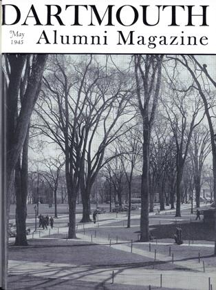 Cover for the May 1945 issue