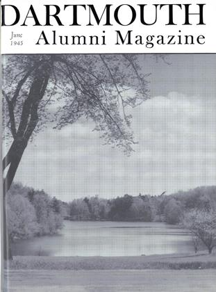 Cover for the June 1945 issue