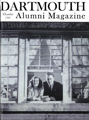 Cover for the December 1945 issue