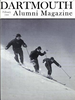 Cover for the February 1946 issue