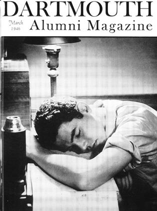 Cover for the March 1946 issue