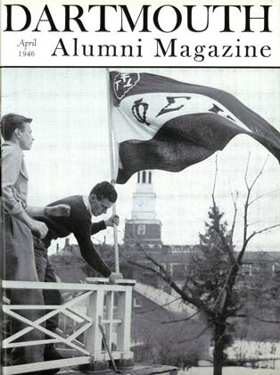 Cover for the April 1946 issue