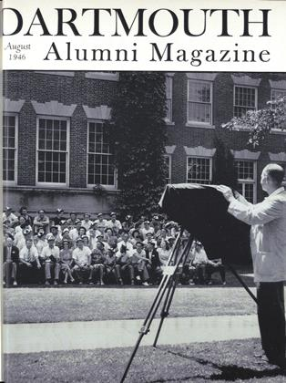 Cover for the August 1946 issue
