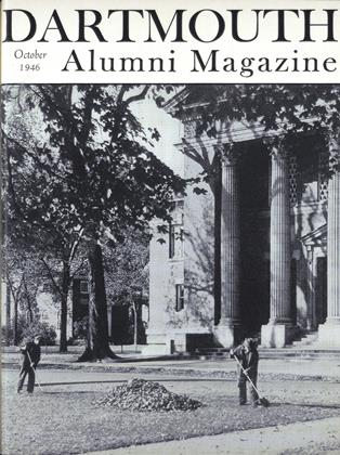 Cover for the October 1946 issue