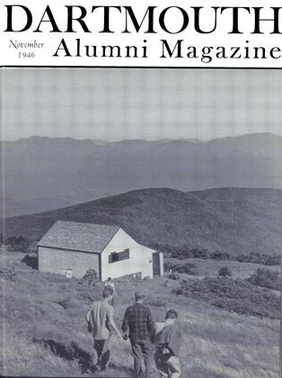 Cover for the November 1946 issue