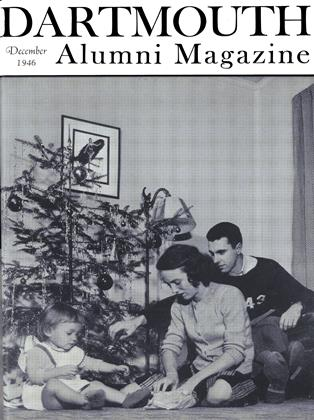 Cover for the December 1946 issue