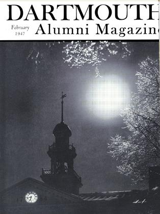 Cover for the February 1947 issue