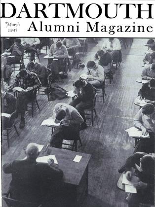 Cover for the March 1947 issue