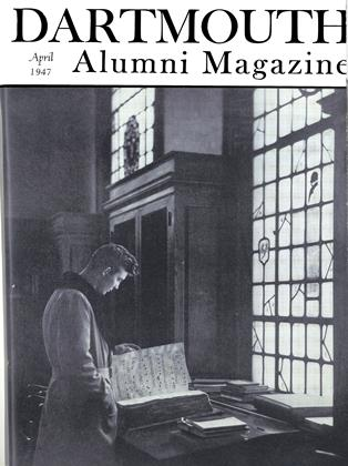 Cover for the April 1947 issue