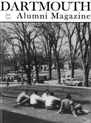 Cover for the June 1947 issue