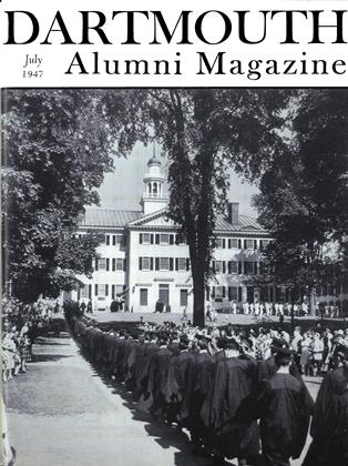 Cover for the July 1947 issue