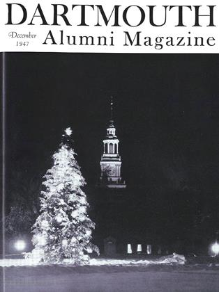 Cover for the December 1947 issue
