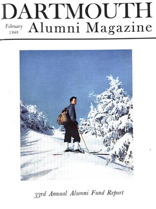 Cover for the February 1948 issue