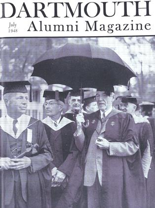 Cover for the July 1948 issue
