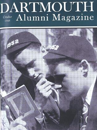 Cover for the October 1948 issue